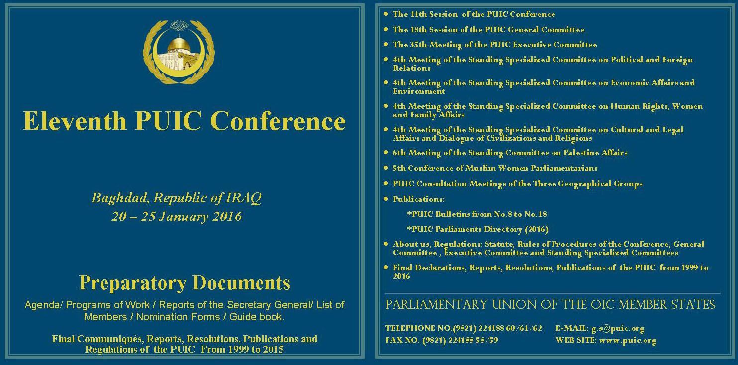 19 CD12 11th Conf Iraq Jan 2016