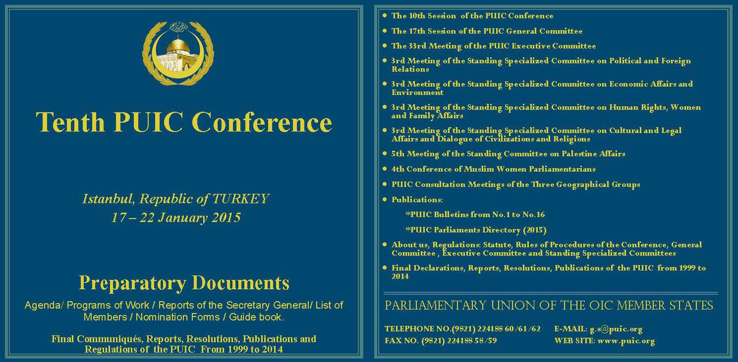 18 CD11 10th Conf Turkey Jan 2015