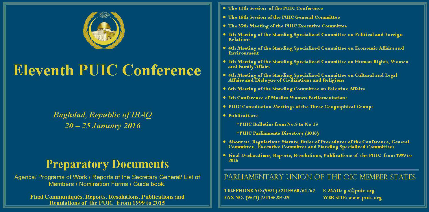 19 CD12 11th Conf Iraq Jan 2016