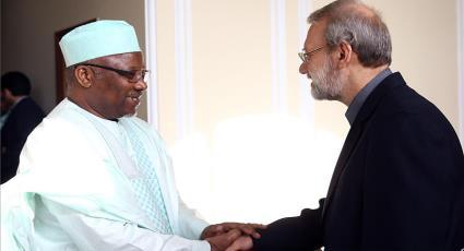 PUIC Secretary General meets Dr. Larijani