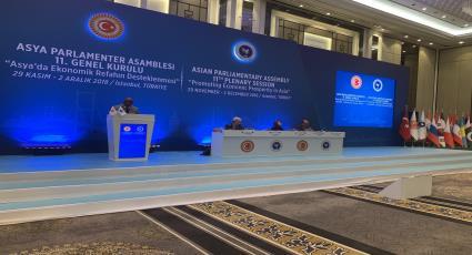 الأمين العام يؤكد الأمكانات الأقتصادية الضخمة لآسيا