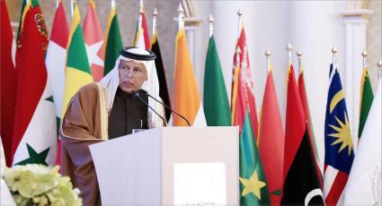 كلمة رئيس المجلس القطري، معالي أحمد بن عبد الله المحمود