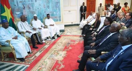 Le Président du Faso Reçoit les Parlementaires Participant au 15e Conférence de l'UPCI
