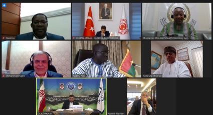 La Réunion en Ligne des Membres du Comité Exécutif de l'UPCI Pour étudier Covid-19