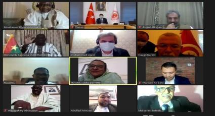 الاجتماع الافتراضي الثاني عبر الويب (وبينار) للجنة التنفيذية للاتحاد