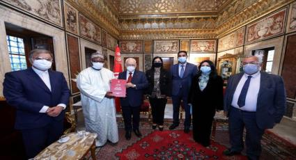 توقيع مذكرة التفاهم بشأن المؤتمر السادس عشر للاتحاد فی تونس