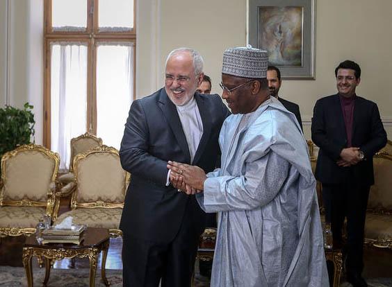 الأمين العام يجتمع بوزير الخارجية الايراني