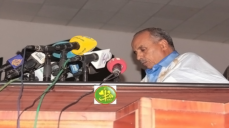 الأمين العام يهنئ رئيس البرلمان الموريتاني