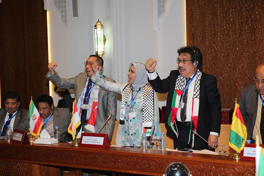 الاجتماع التاسع للجنة فلسطين الدائمة للإتحاد