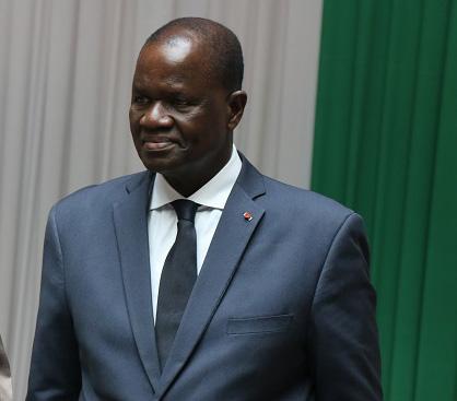 Le Secrétaire Général Félicite le Président du Parlement de Côté d'Ivoire