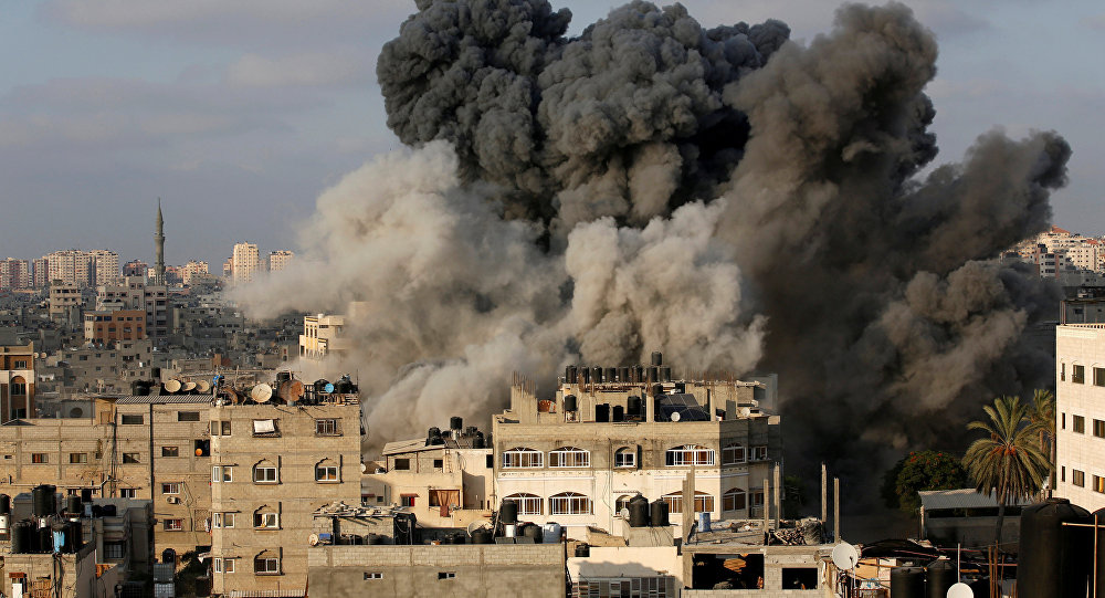 الأمين العام للإتحاد يدين العدوان الإسرائيلي على قطاع غزة
