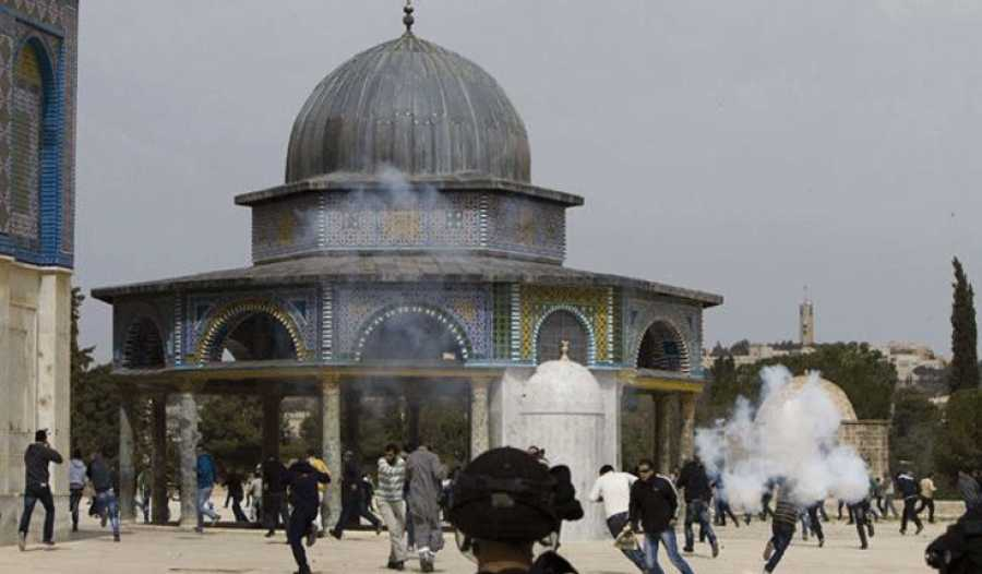 المطالبة بحق العبادة في المسجد الأقصى