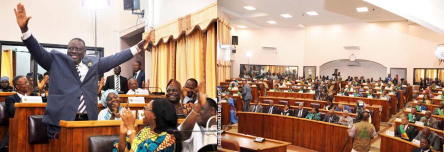 الأمين العام يهنئ رئيس برلمان بنين