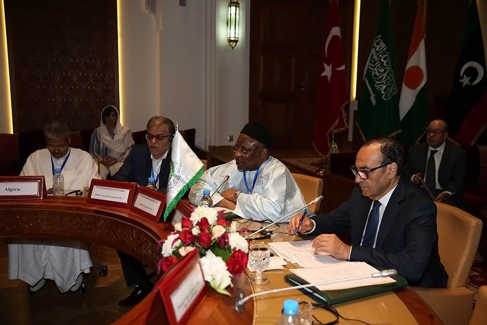 كلمة السيد الحبيب المالكي فى افتتاح الاجتماع الاستثنائى الثالث للجنة التنفيذية للاتحاد