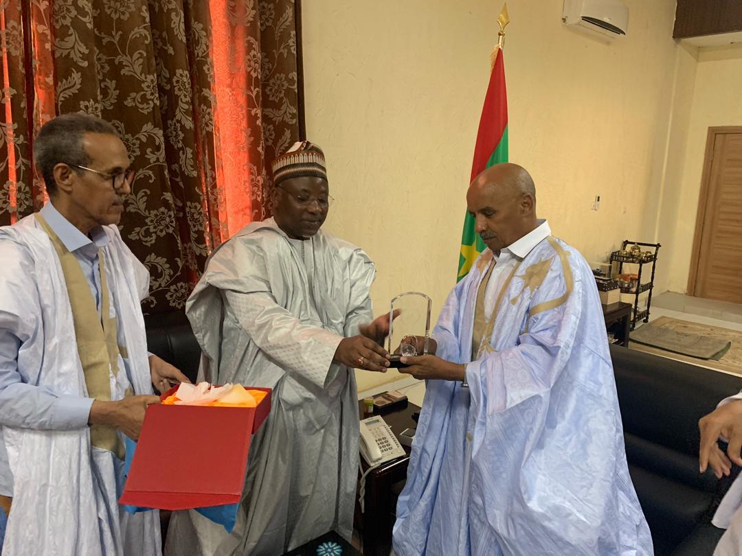 رئيس الجمعية الوطنية الموريتانية يستقبل الأمين العام لاتحاد البرلمانات الإسلامية