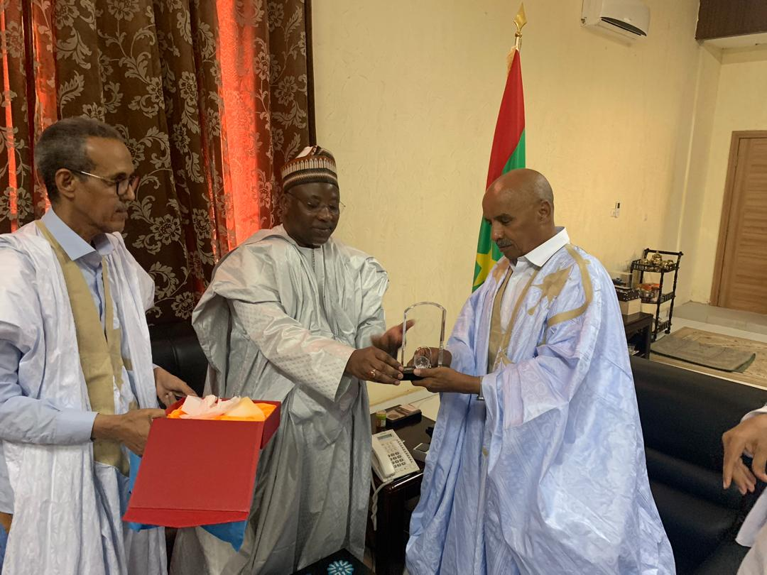 Mauritanian National Assembly Speaker Receives PUIC Secretary General
