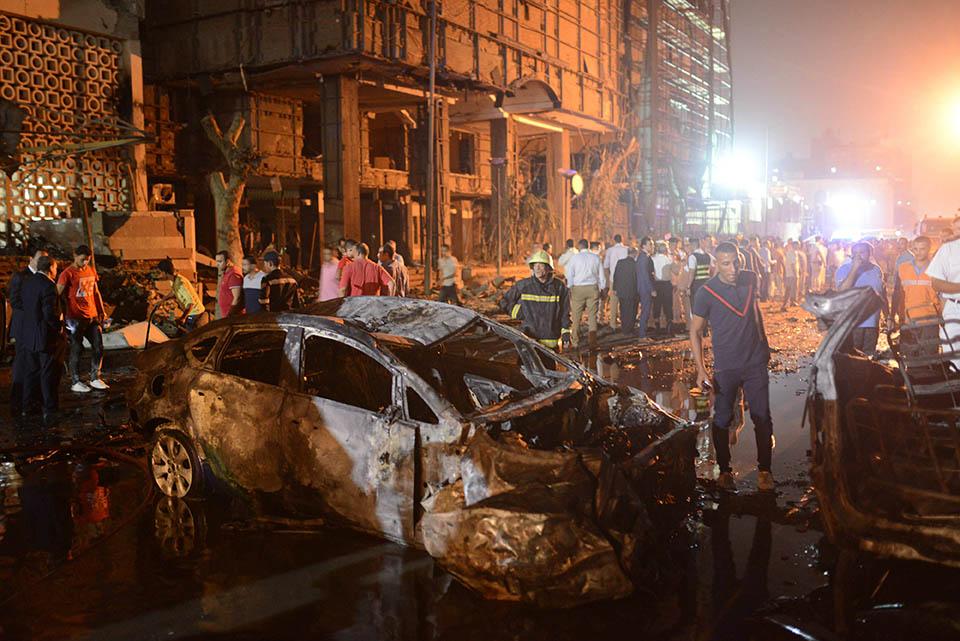 دول المجالس الأعضأ فى الاتحاد تدين تفجير القاهرة