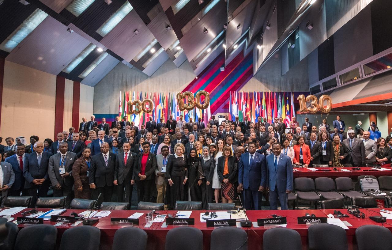 الاتحاد يشارك فى اعمال الجمعية الحادية والاربعين بعد المائة للاتحاد البرلماني الدولي فى بلغراد- صربيا