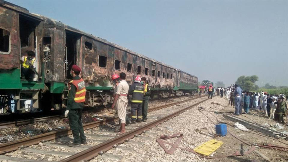 Following the Pakistani Train Fire: The PUIC Secretary General Consoles with the Pakistani People
