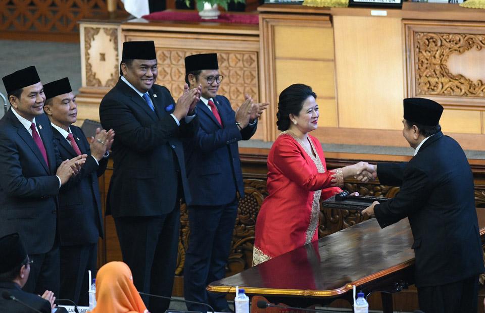 الأمين العام يهنئ رئيسة البرلمان الأندونيسى