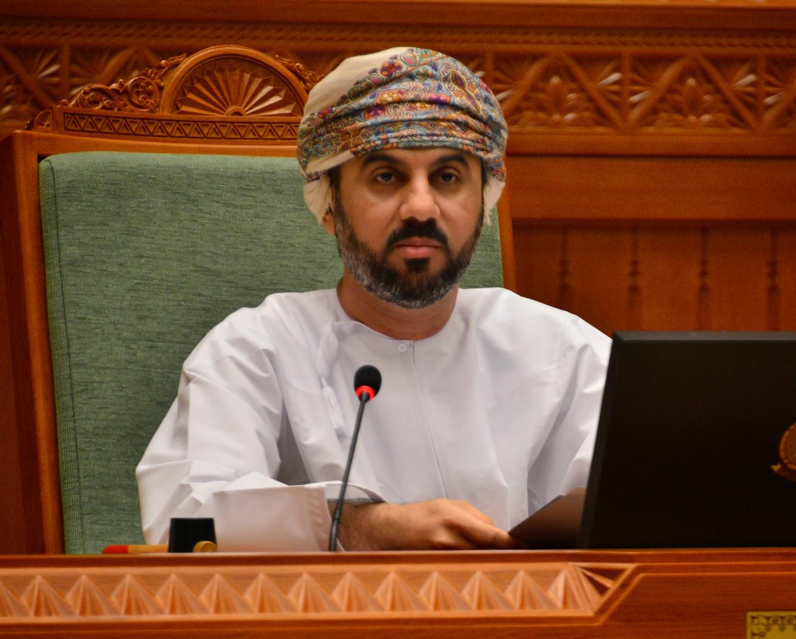 Congratulating the Omani Speaker