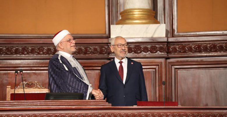 الأمين العام يهنئ رئيس البرلمان التونسى