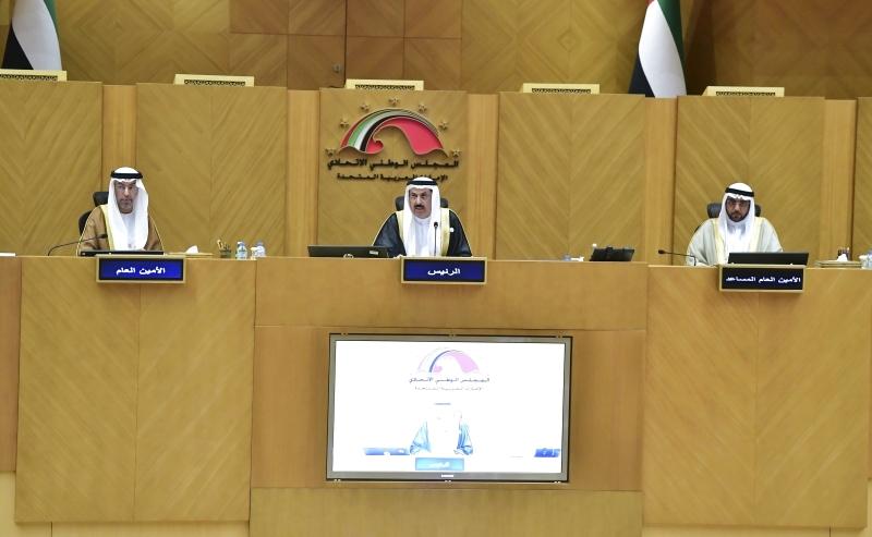 الأمين العام يهنئ رئيس مجلس الأمارات
