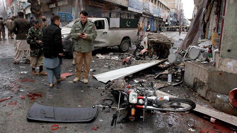الاتحاد يستنكر تفجير مسجد غربي باكستان