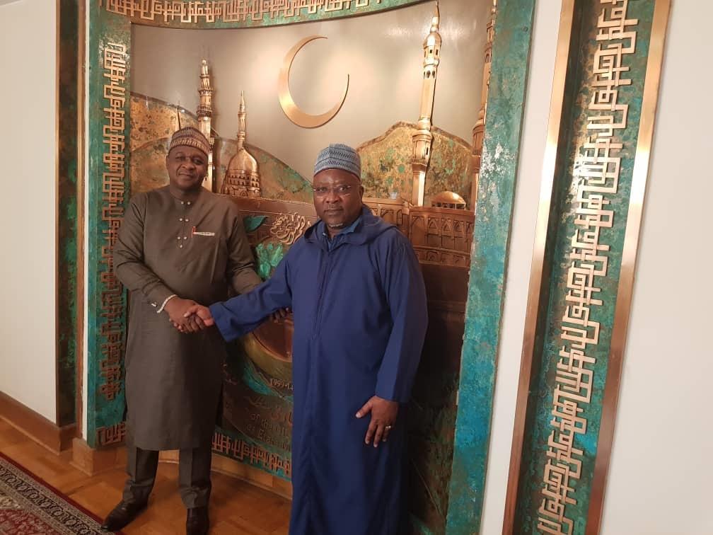 الأمين العام للاتحاد يستقبل سفير نيجيريا فى طهران