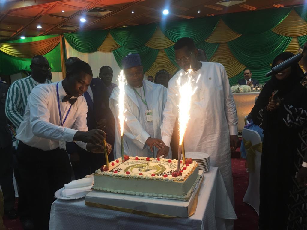 Celebrating PUIC 20th anniversary in Burkina Faso