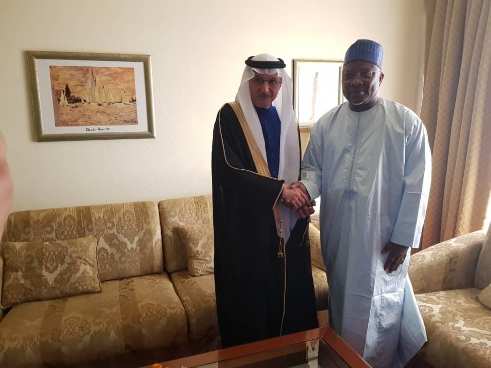 الامين العام للاتحاد يلتقى بالأمين العام لمنظمة التعاون الإسلامى