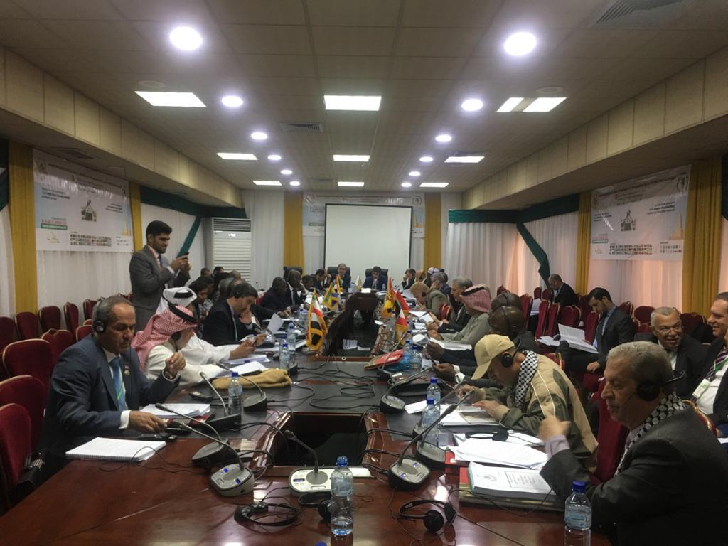 الاجتماع الثامن للجنة الدائمة المتخصصة للشؤون السياسية والعلاقات الخارجية