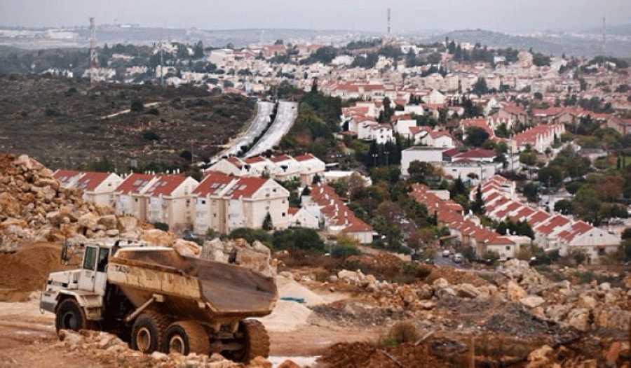 المجلس الوطنى يحذر من خطط الضم الاسرائيلية