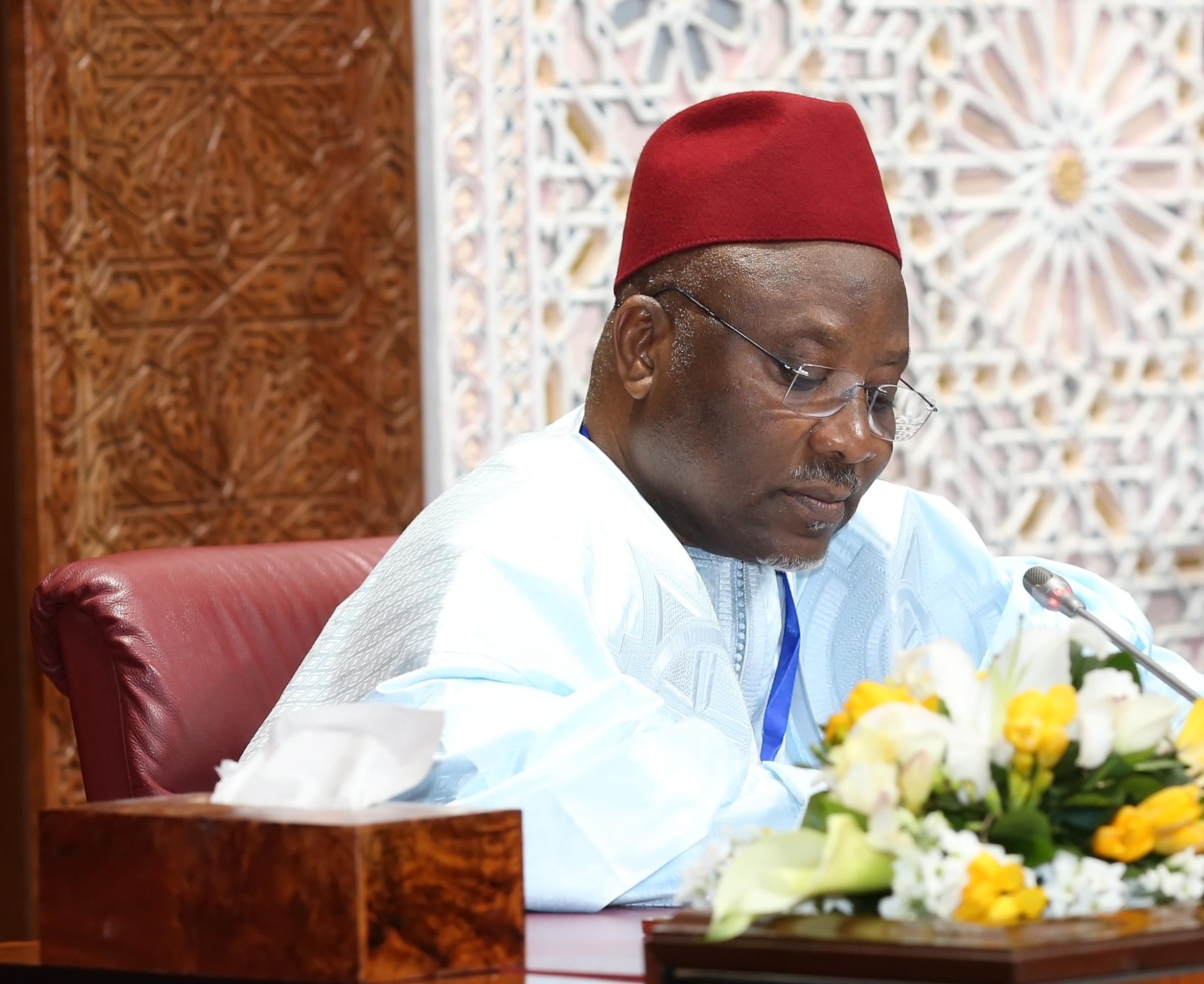 Le Secrétaire Général Félicite les Présidents, Observateurs et Ambassadeurs Musulmans