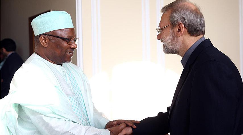 Le Secrétaire Général Remercie M. Larijani
