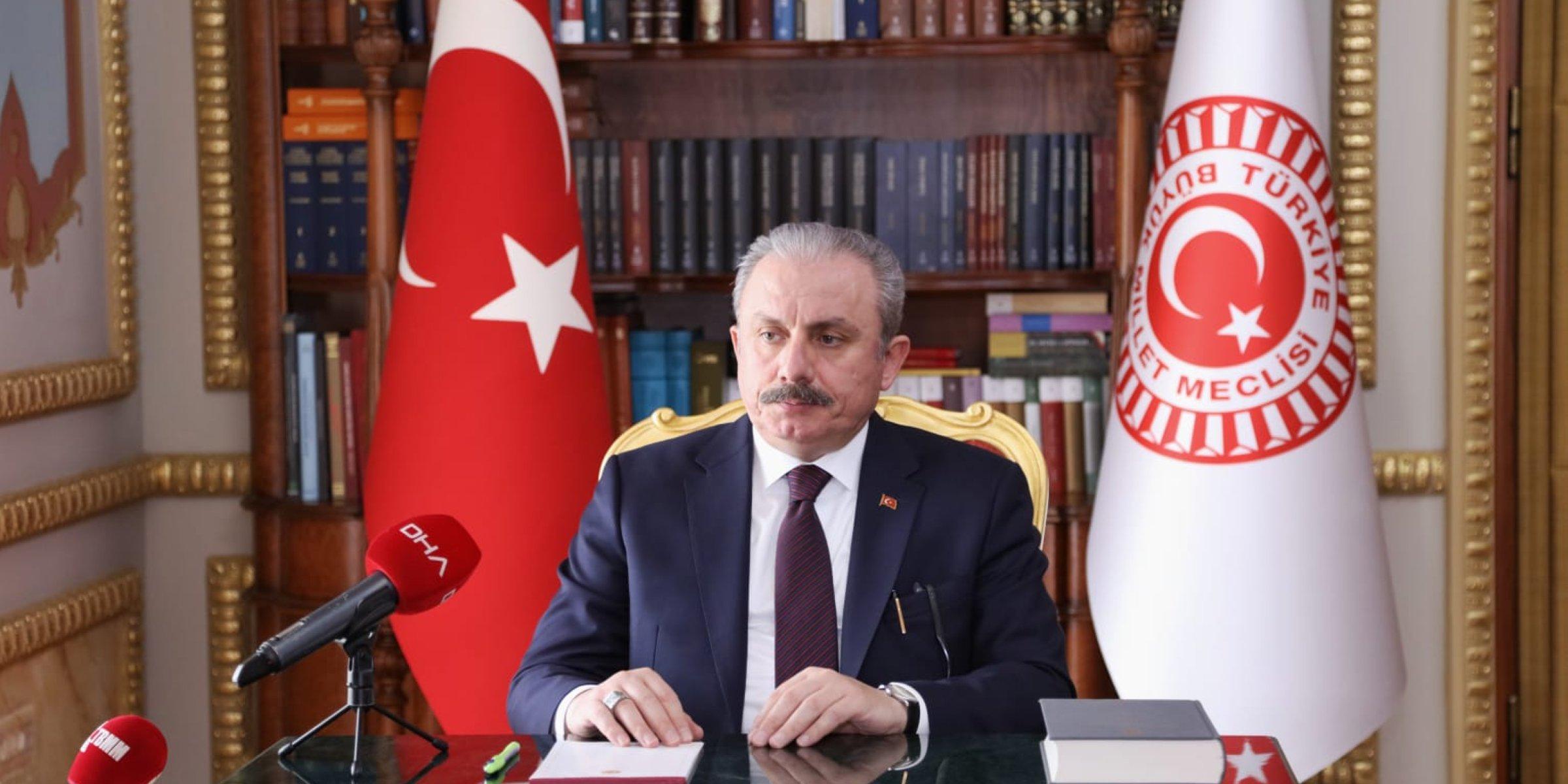 Le Secrétaire Général Félicite le Président du Parlement Turc