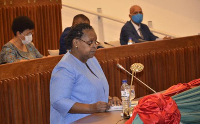 Secretary General Felicitates Mozambican Speaker