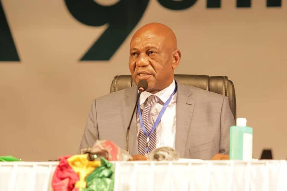 الأمين العام يعنئ رئيس برلمان غينيا