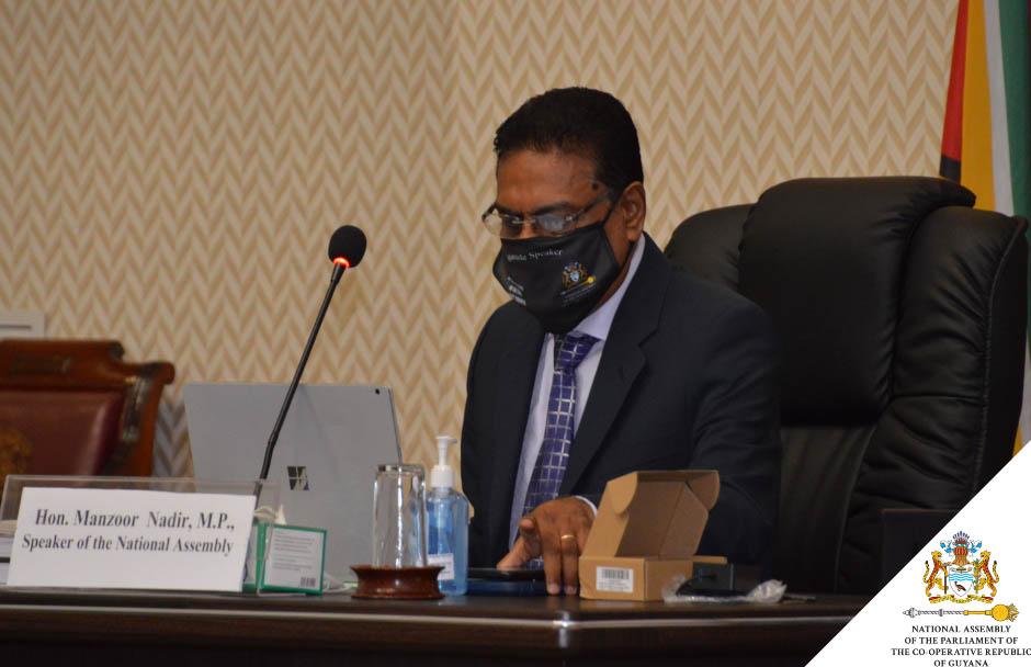 Secrétaire Général Félicite le Président de l'Assemblée de Guyana