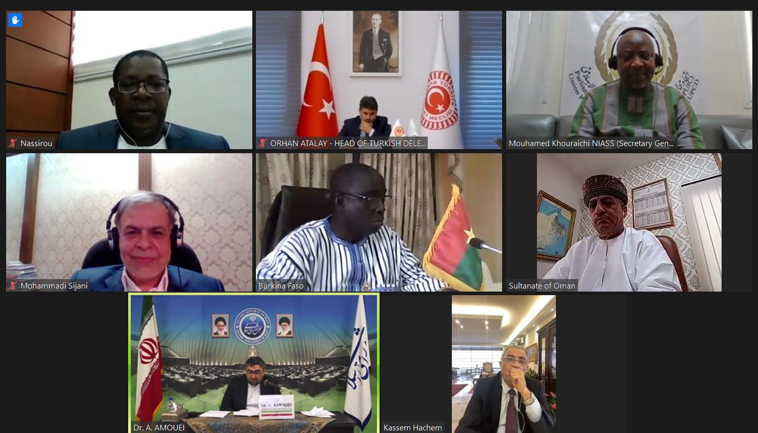 اجتماع أعضاء اللجنة التنفيذية للاتحاد المعنى بدراسة جائحة COVID-19