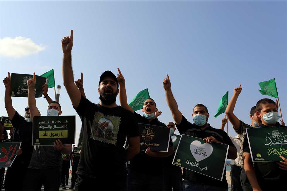 مظاهرات و تصعيد عربي وإسلامي ضد الرسوم المسيئة