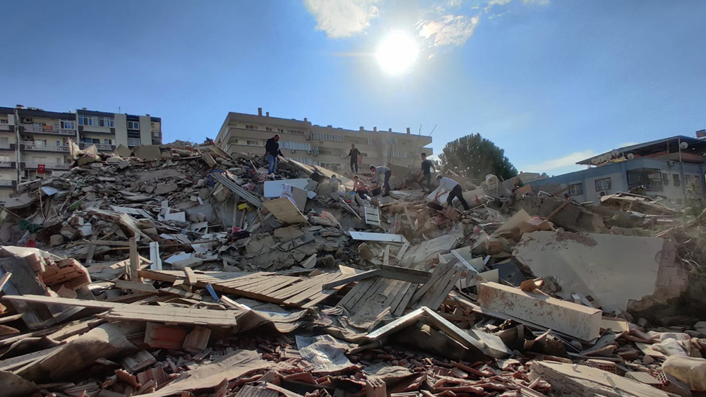 Le Message de Condoléance du Secrétaire Général Pour le Tremblement de Terre d