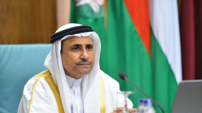 الأمين العام يهنئ رئيس البرلمان العربي