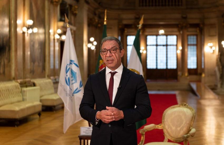 الأمين العام يهنئ رئيس الاتحاد البرلماني الدولي
