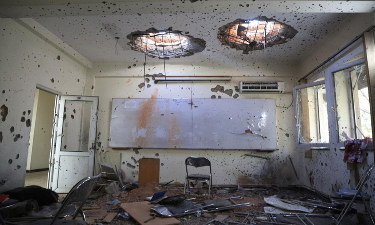 Secretary General Condemns Attack on Kabul University