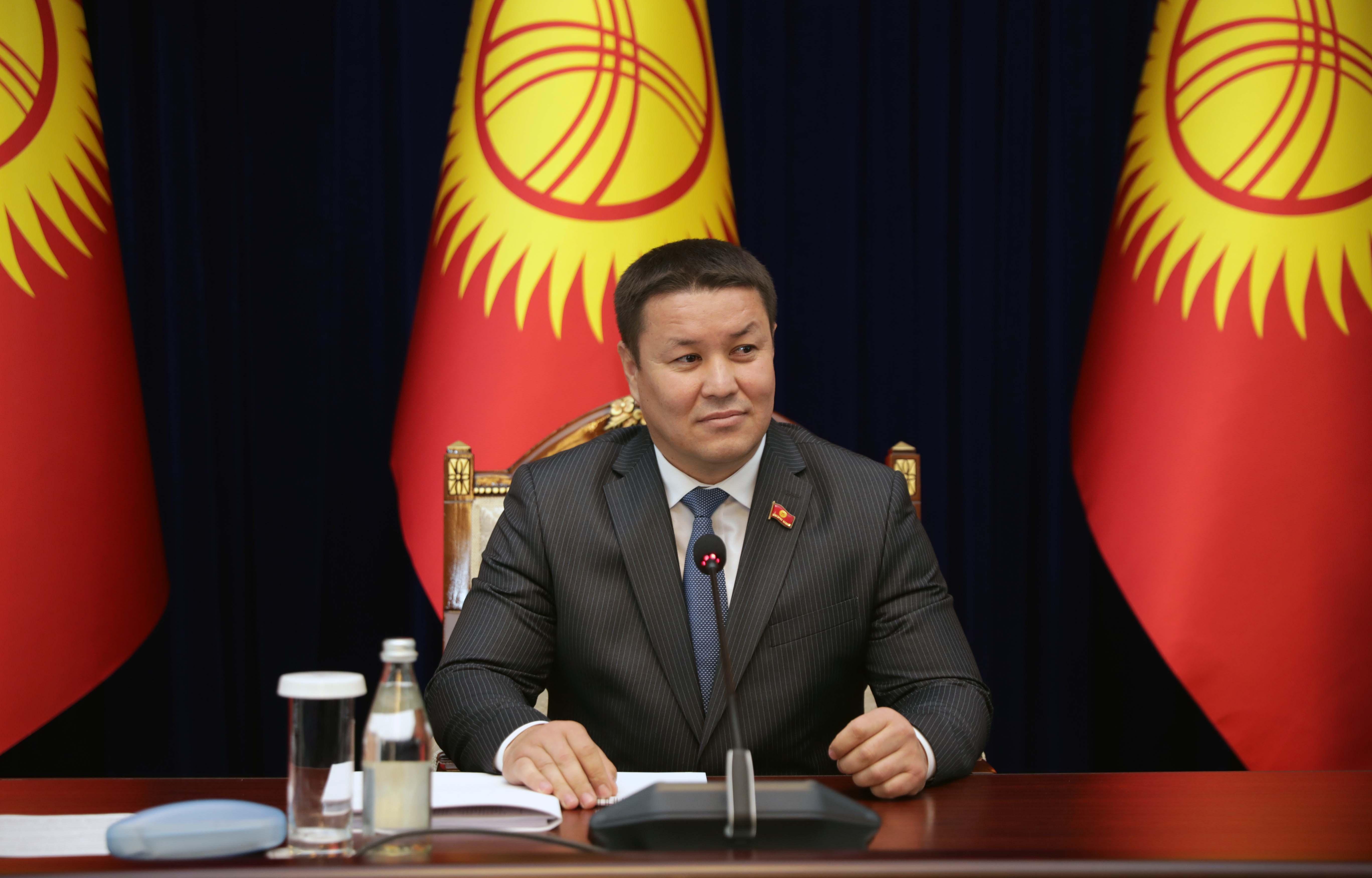 Secretary General Congratulates Speaker of Kyrgyzstan