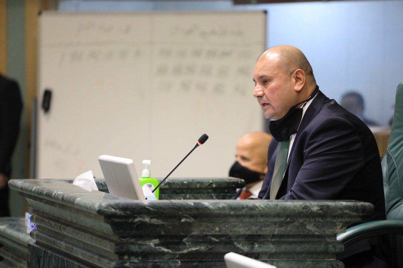 Le Secrétaire Général Félicite le Président du Parlement Jordanien