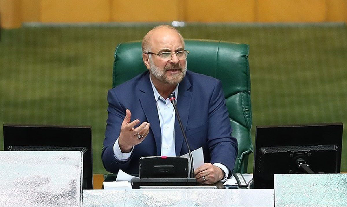 Message from Dr. Ghalibaf to PUIC Secretary General Concerning Martyrdom of Iranian Nuclear Scientist