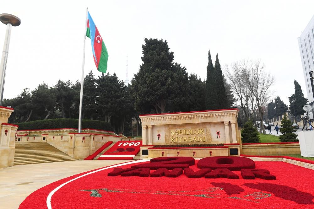 أذربيجان تحتفل بذكرى يناير الأسود