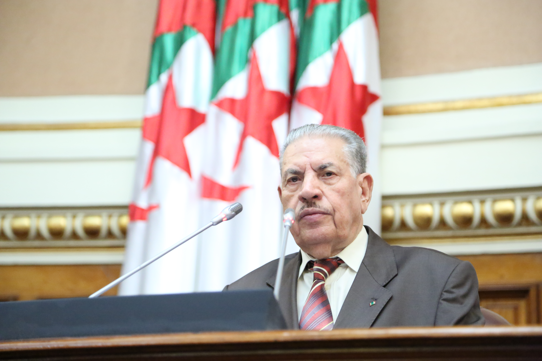 Le Secrétaire Général Félicite le Président du Parlement Algérien